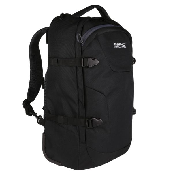 Paladen Carry On Convertible Backpack Rucksack Black Ebony